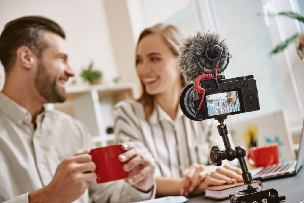 Collaborate with vloggers