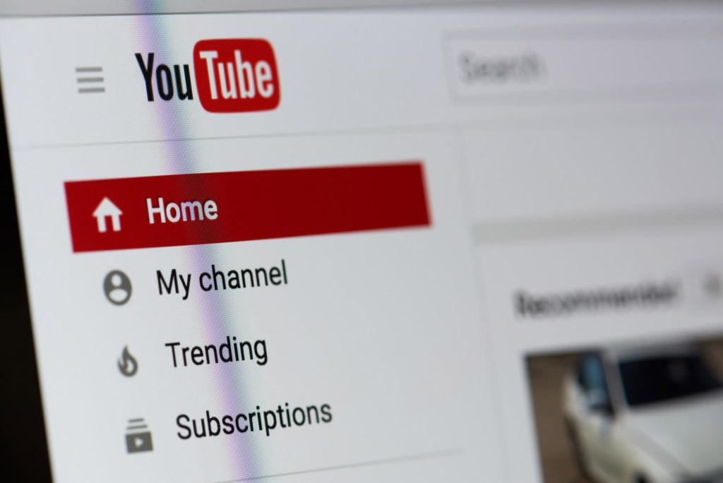 verified account YouTube